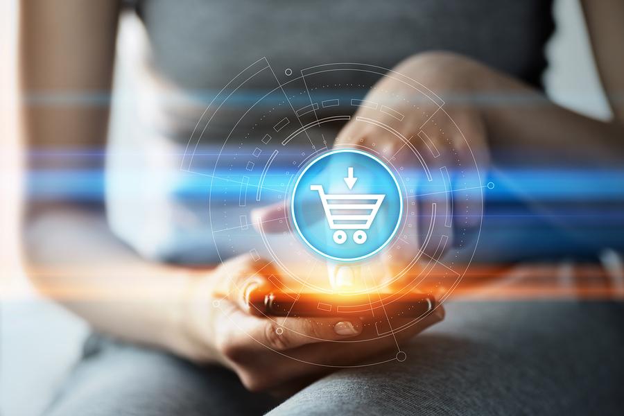 negócio de comércio eletrônico